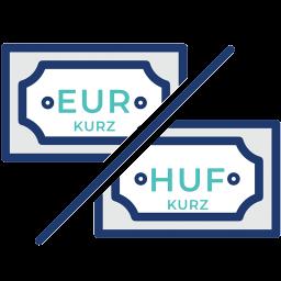 EUR-HUF-menovy-par