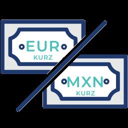 EUR-MXN-menovy-par